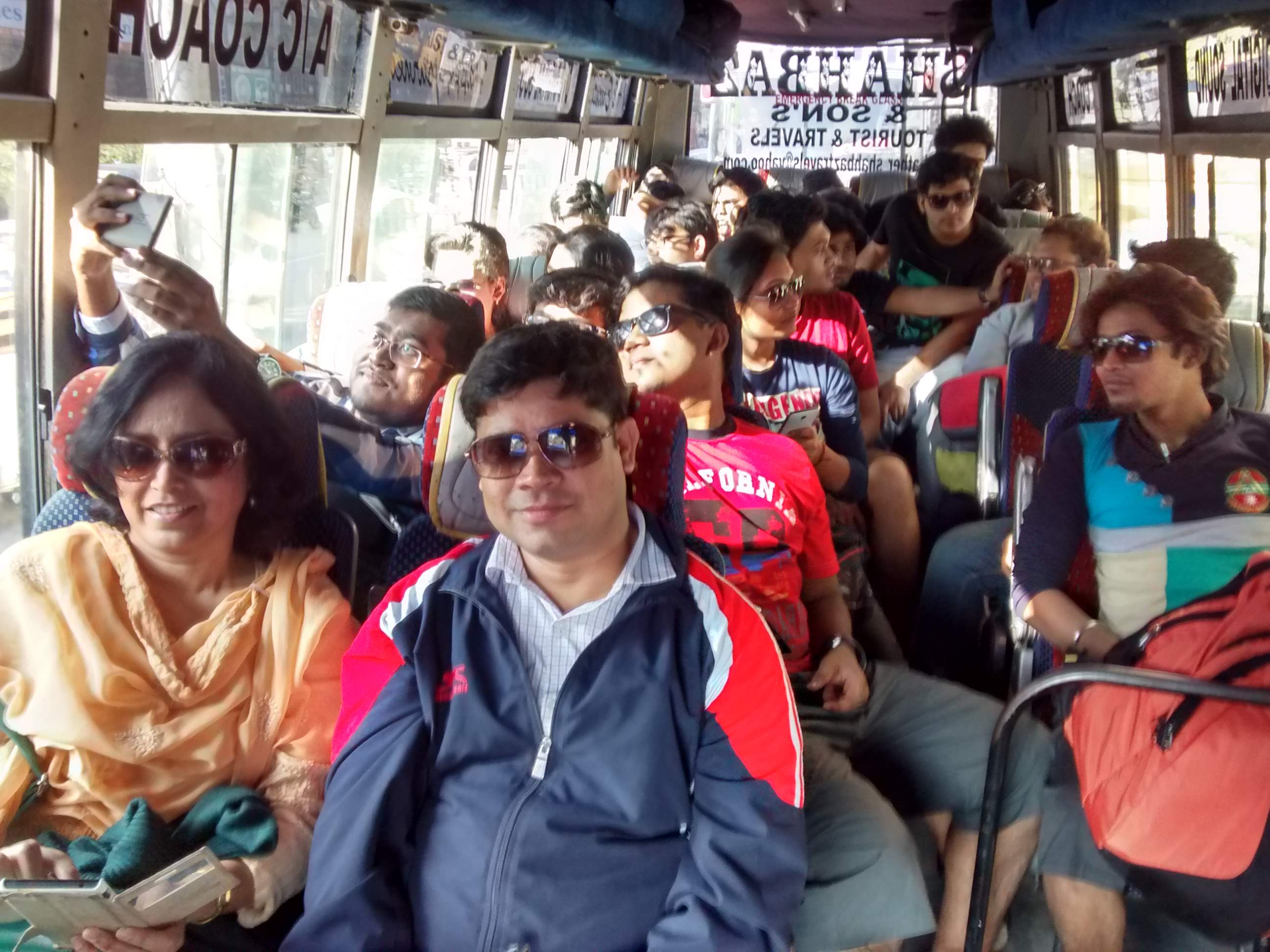On the way to hotel - Secunderabad
