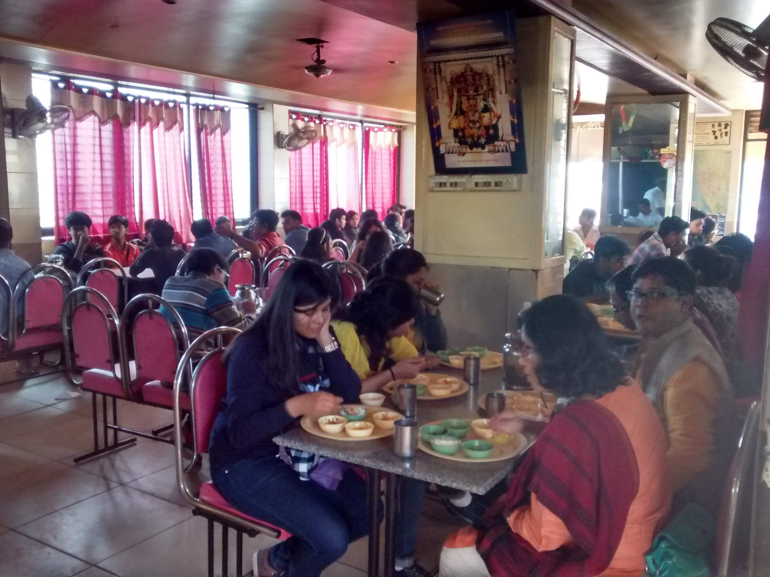 Lunch at Badami