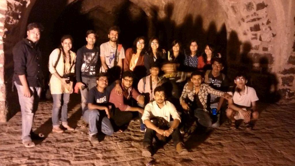 At Daulatabad Fort