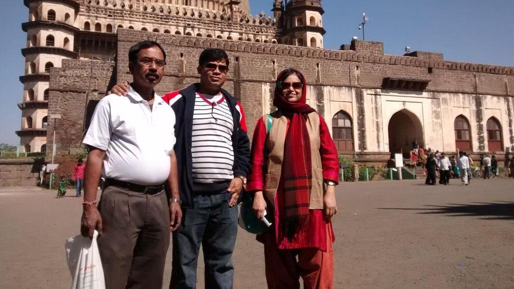 At Bijapur