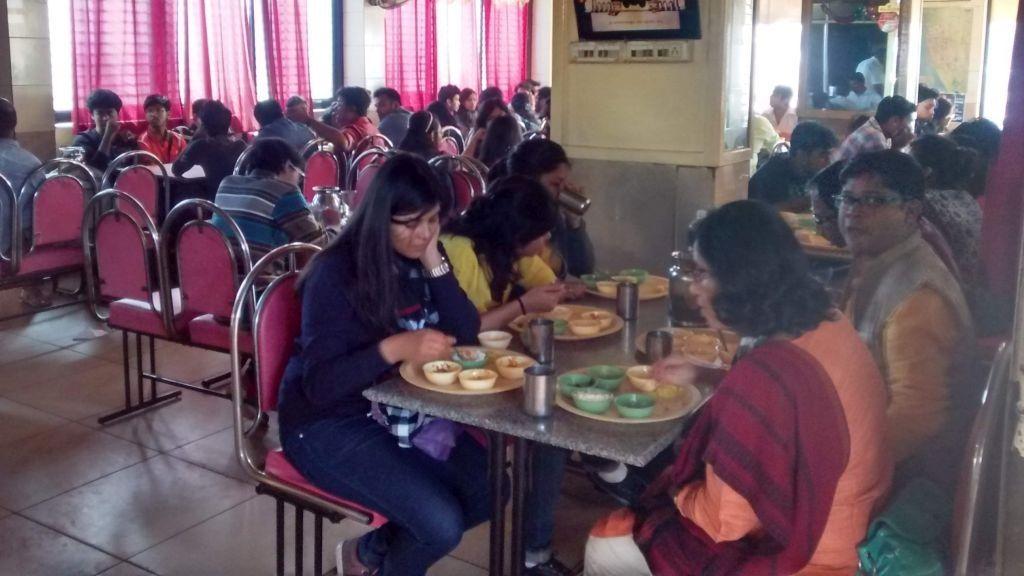 Breakfast at Badami