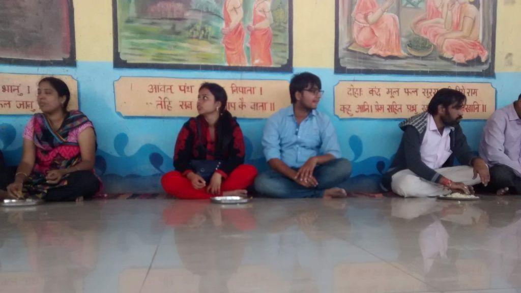 Prasad (Bhog) at Anjeneya Caves