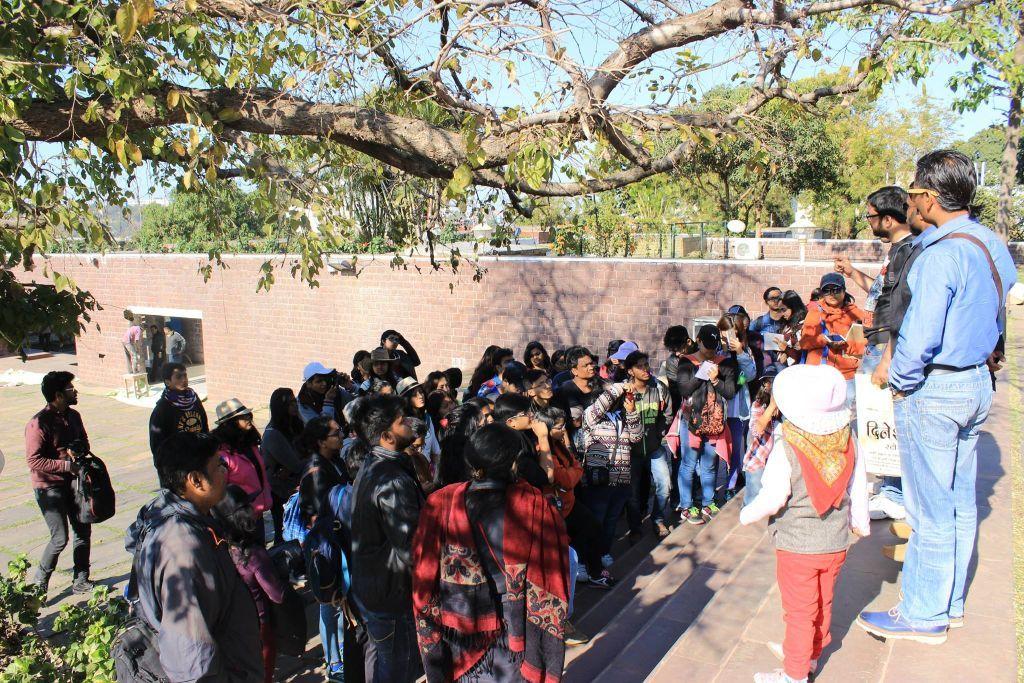 Briefing at Bharat Bhavan, Bhopal