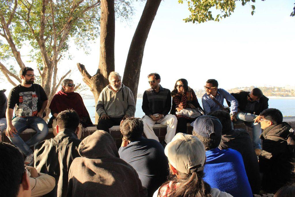 Interaction with Mr. Prashant Khirwarkar at Bharat Bhavan