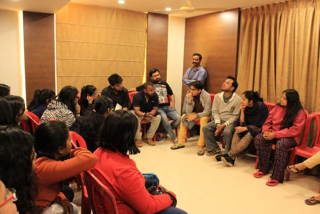 Mid-trip group discussion at Hotel to access study which is done so far and yet to be done
